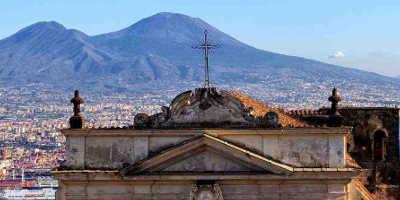 Pompéi et le Vésuve Tour de €80
