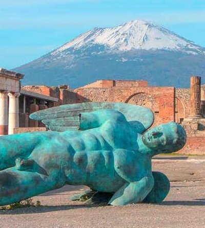 Visite de Pompéi depuis Rome €120