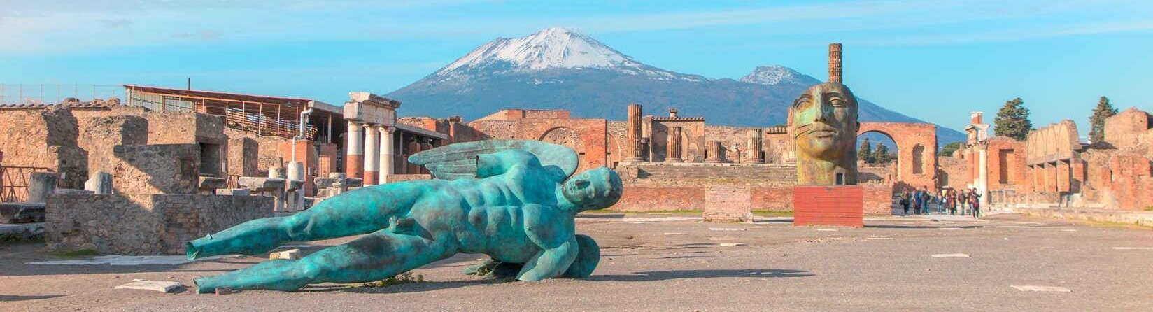 Visite de Pompéi depuis Rome €125