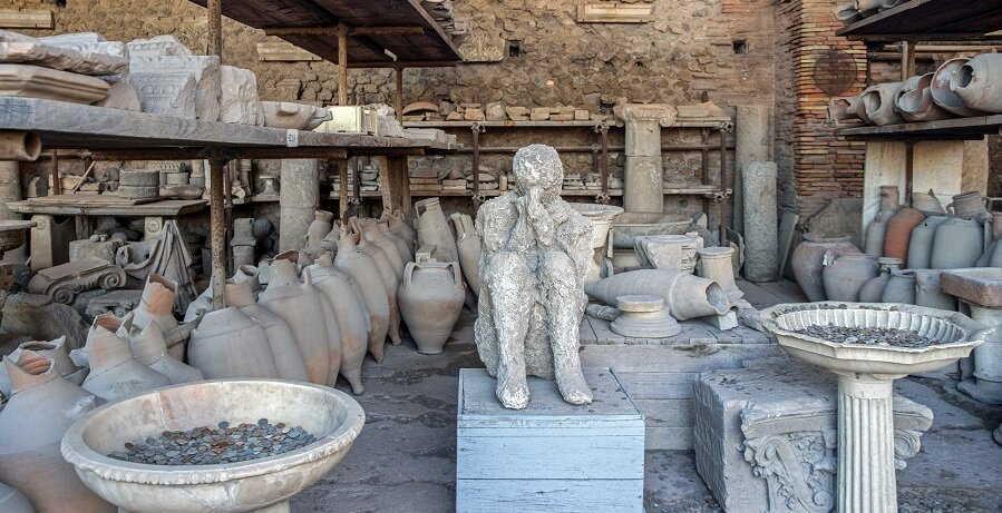 Pompeii Tour from Naples - death cast