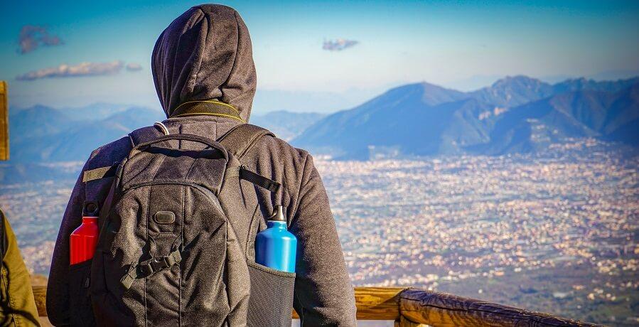 Pompeii Tour from Naples - view from Vesuvius