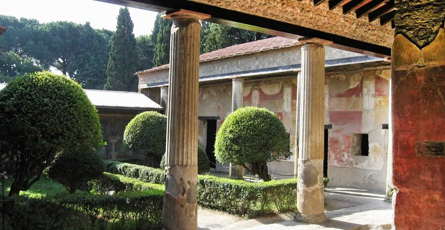 casa a pompei