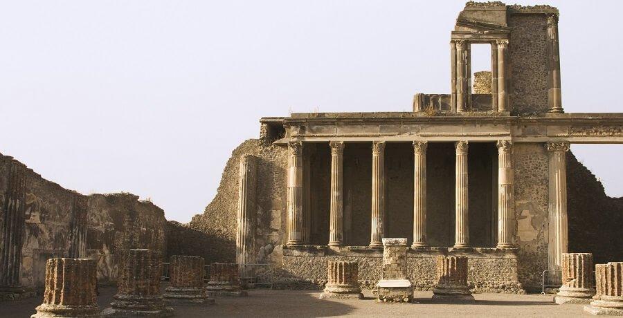 le rovine di Pompei
