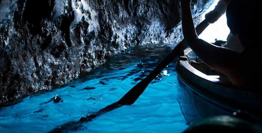 Pompeii Tour with Capri Blue Grotto