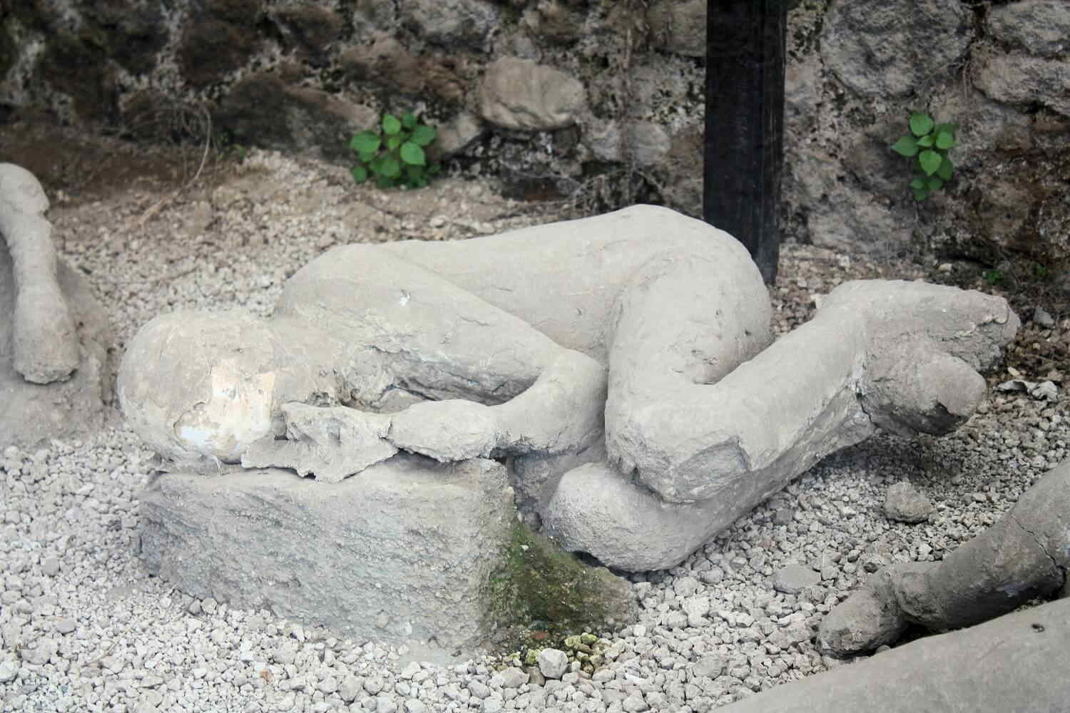 Who were the people of Pompeii?