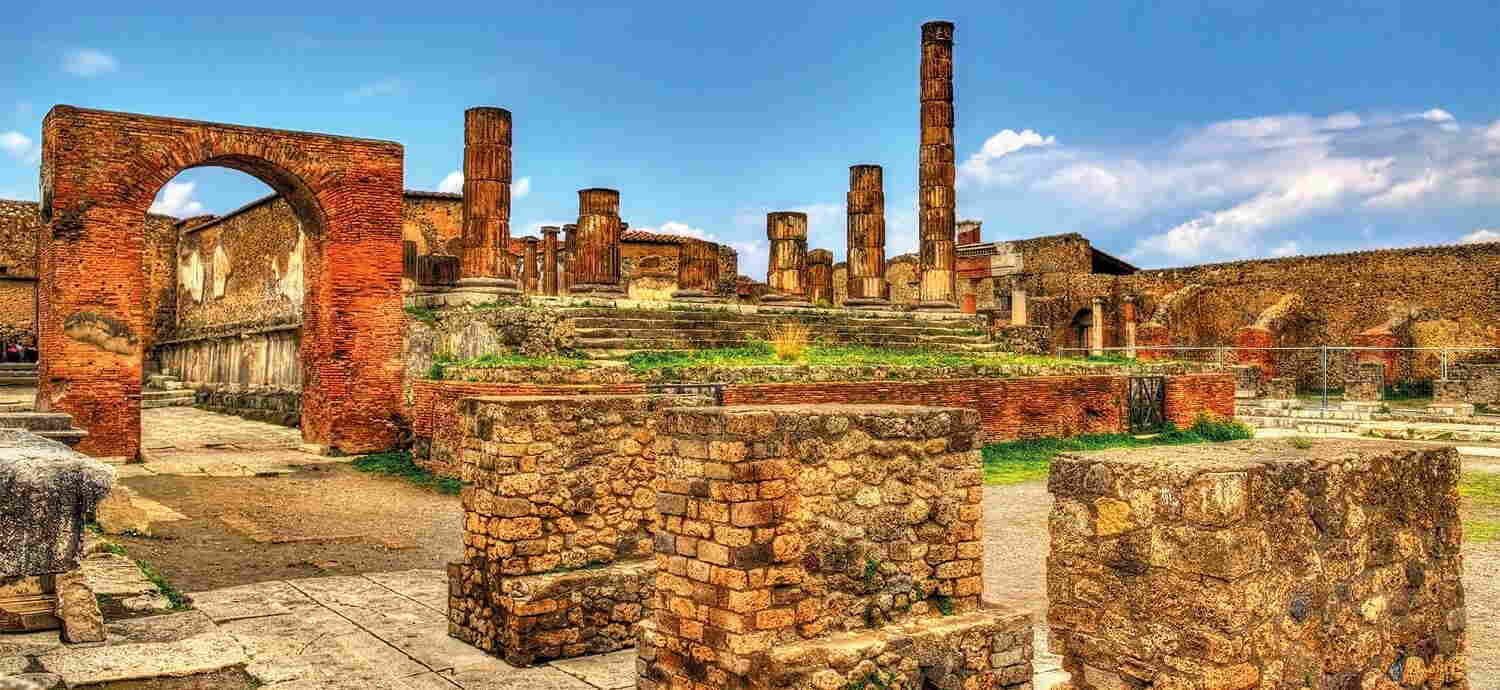How long was Pompeii buried before it was uncovered?