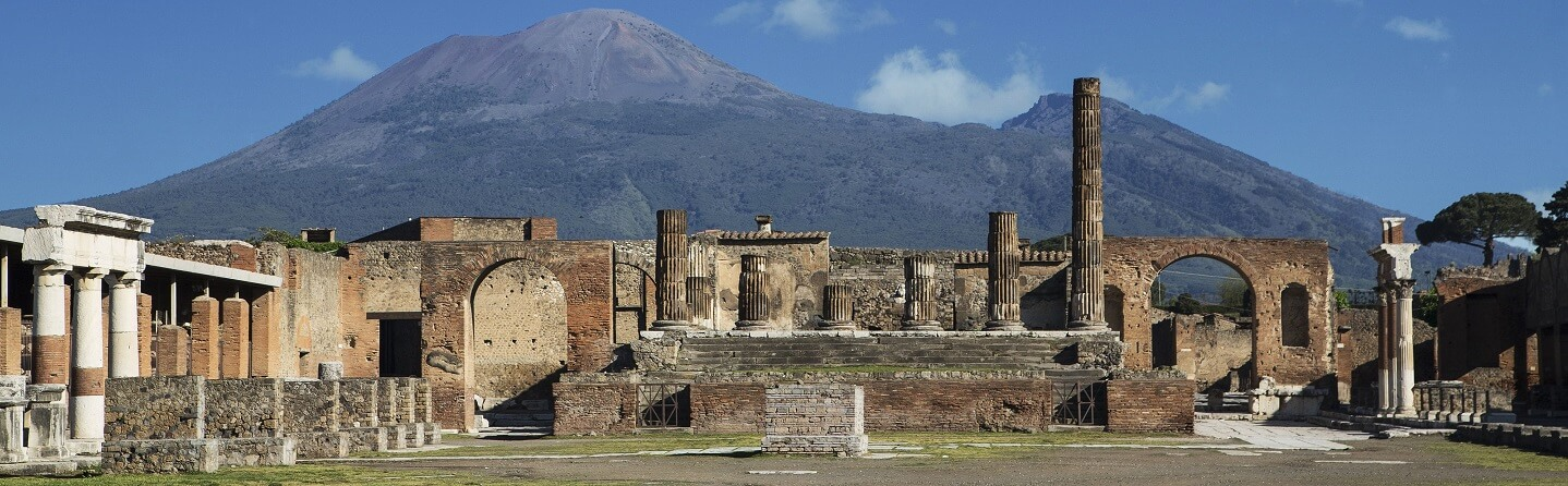 What kinds of artefacts were found in Pompeii?