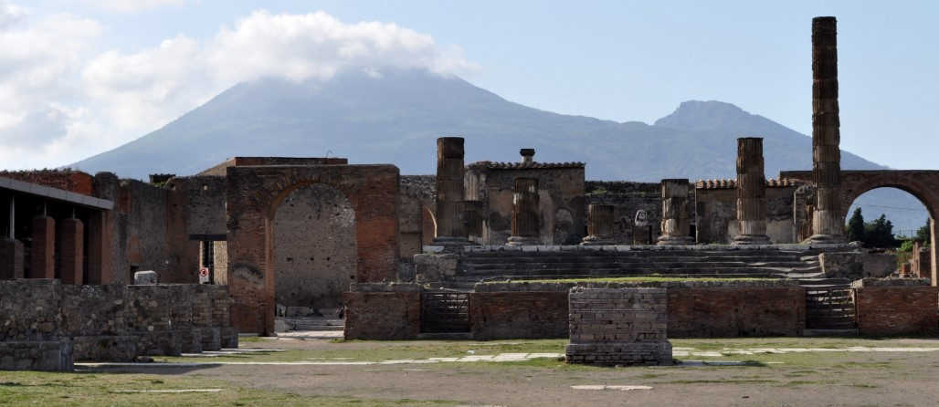 Best walking route to take in Pompeii